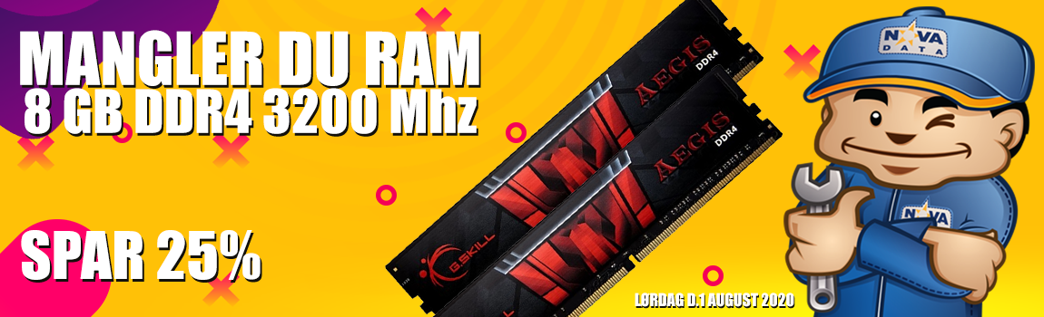 8 GB DDR4 3200 Mhz